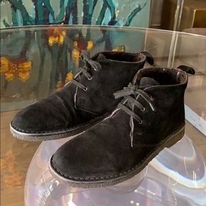 CANDICE Shearling Chukka Boots sz 9 MADE IN ITALY